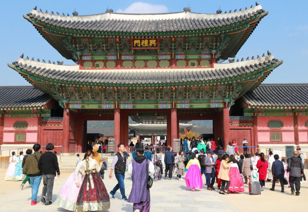 Palatsen i Seoul