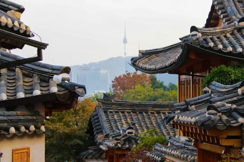 att se och göra i Seoul