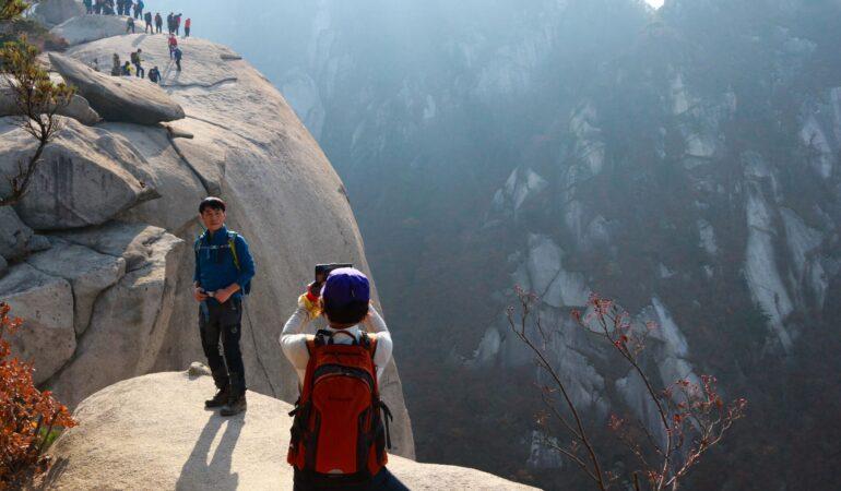 Bukhansan National park – att vandra mitt i Seoul