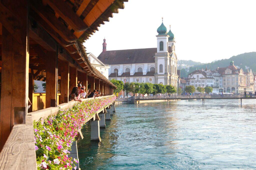Var ska man bo på tågluffen i Schweiz