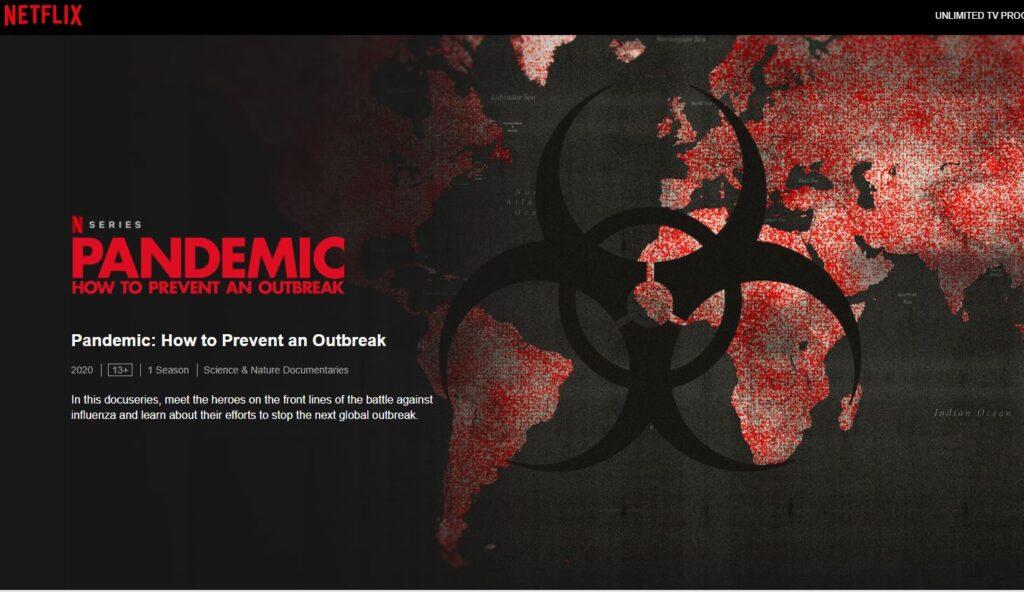 Böcker och filmer om pandemi