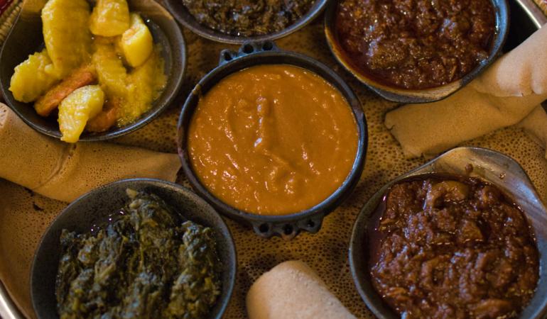 Zaion, en etiopisk restaurang – och drömmen om att resa till Lalibela