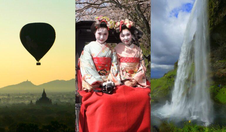 Våra 10 bästa resor – innan världen stängde
