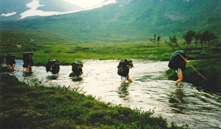 Att vada på vandring – hur gör man?