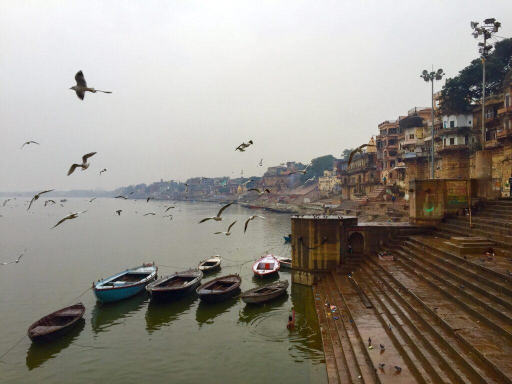 Världens äldsta städer varanasi