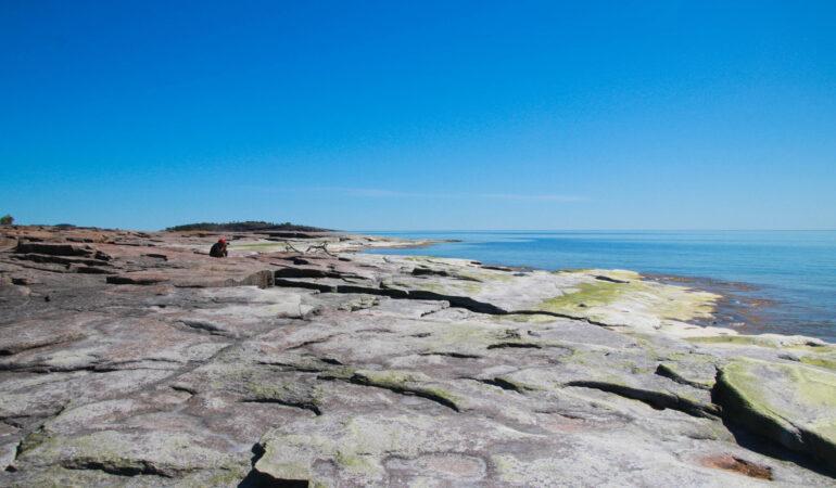 Rotsidan – Barsta, Världsarvsleden längs Höga kusten – maffig kustnära vandring