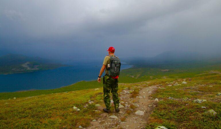 Vandring till samevistet vid Pietsjaure – en födelsedagsvandring i Saltoluokta
