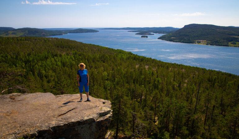 Getsvedjeberget – eller kanske #getsvedjeberget? – Mer utsikt vid Höga kusten