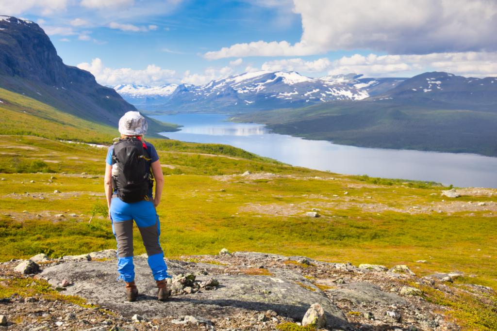 Bästa platserna för dagsvandringar i svenska fjällen