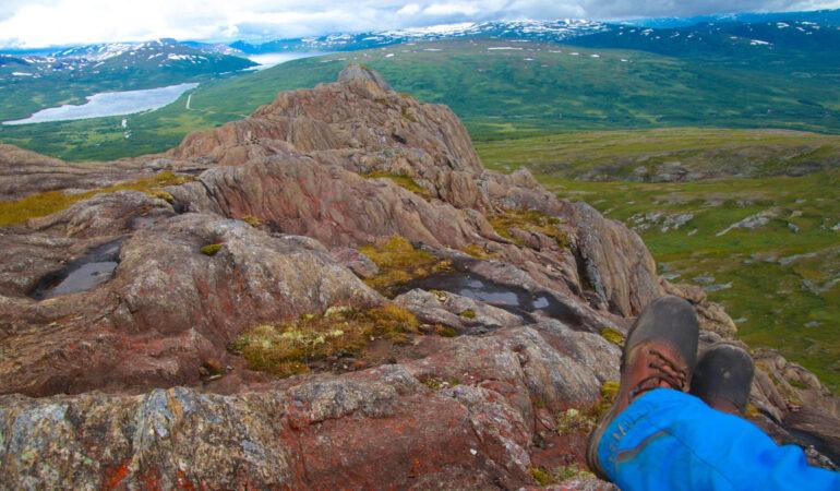 Atoklimpen, Hemavan – en klassisk bestigning av ett heligt berg