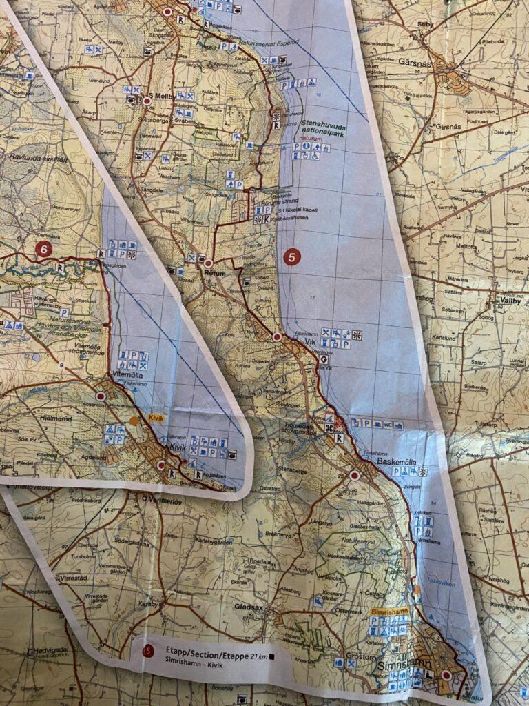 vandring Simrishamn-Kivik