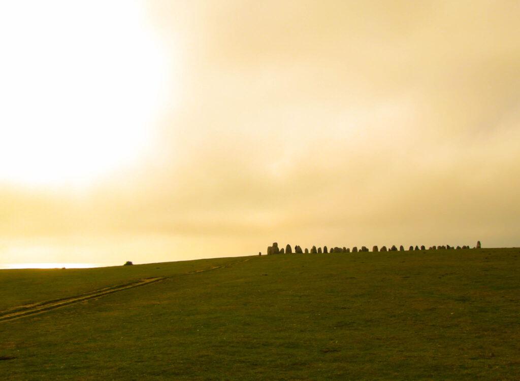 vandring Ystad-Kåseberga Ale stenar