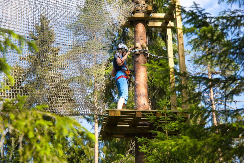 Zip Adventure Park i Umeå
