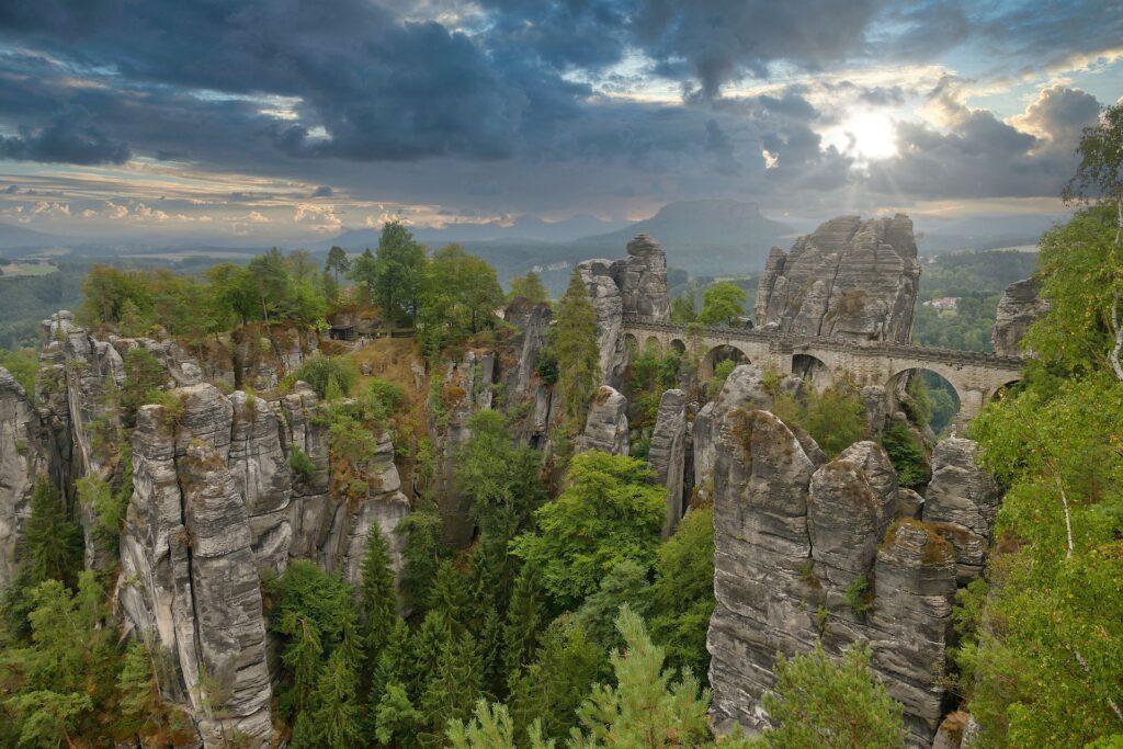 Tysklands vackraste tågresor