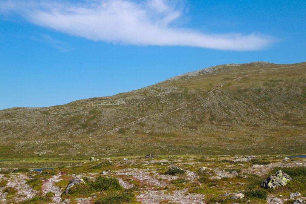 Storvätteshogna - Dalarnas högsta punkt