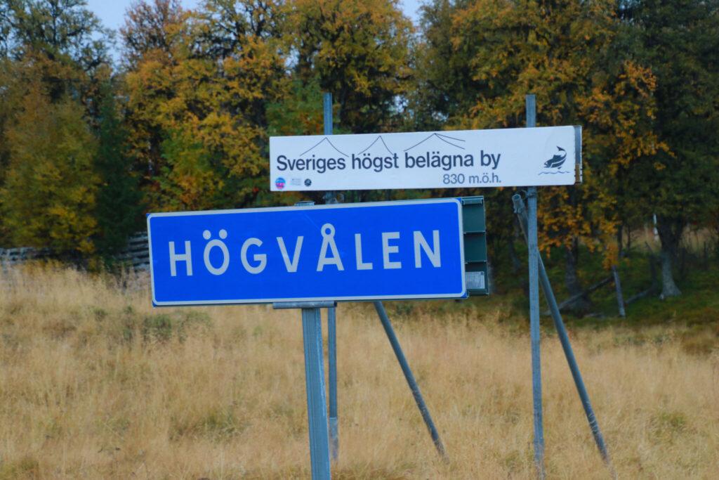 Sveriges högsta vägar